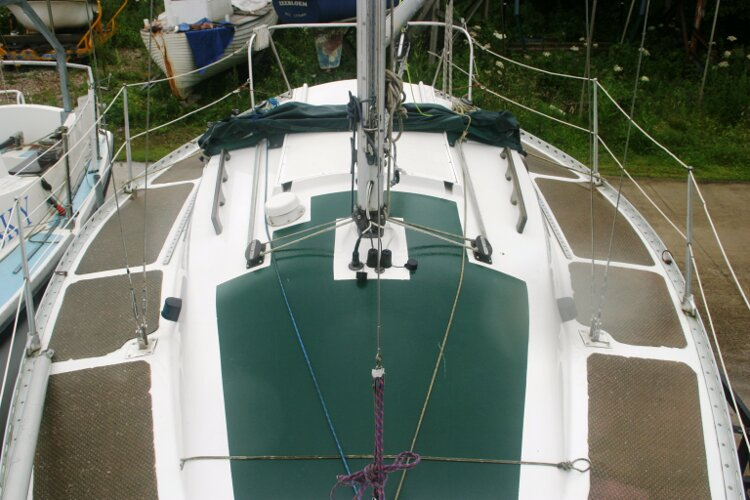 Master Marine Eygthene 24for sale The view looking aft - Seen from before the mast