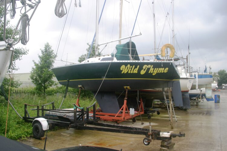 Master Marine Eygthene 24for sale POrt side view -
