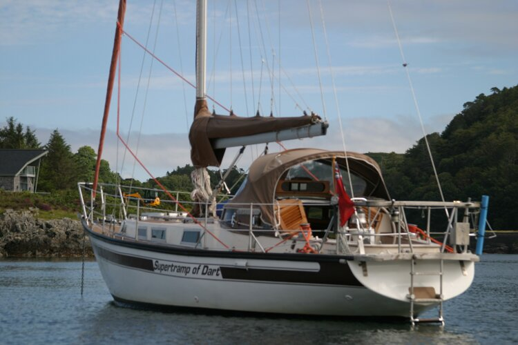 Bruce Roberts 34 Sailing Yachtfor sale Port Quarter -