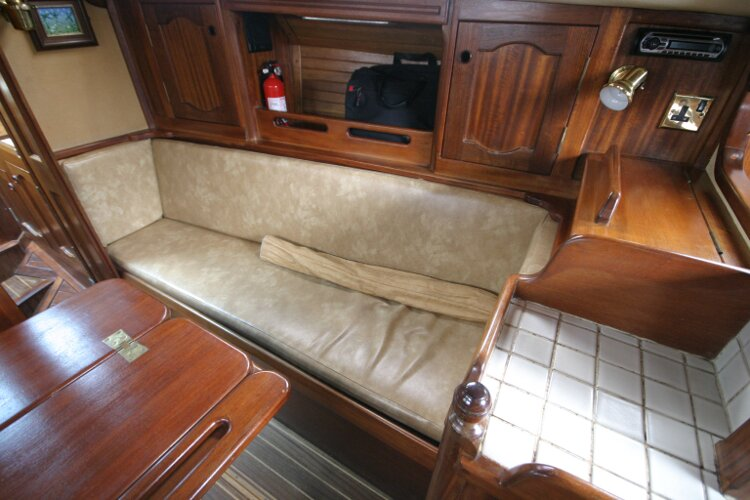 Bruce Roberts 34 Sailing Yacht Starboard Sofa