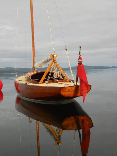 Wooden Classic 23ft Day Sailer - NOT FOR SALE, details for ...