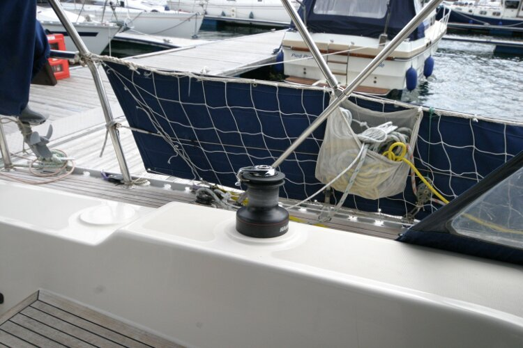 Hanse 411for sale Port winch - self tailing