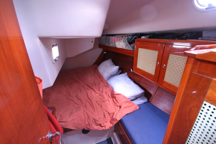 Hanse 411for sale Aft Cabin - port side