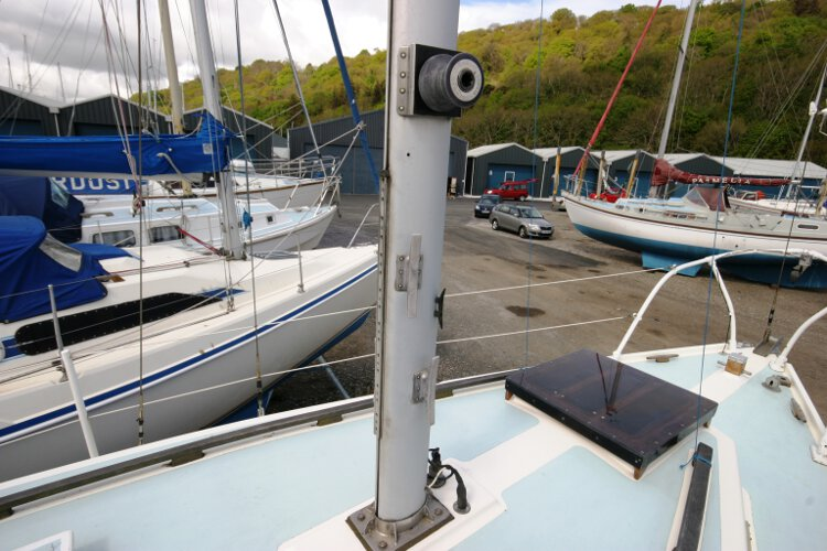 Colvic 26for sale The main mast -