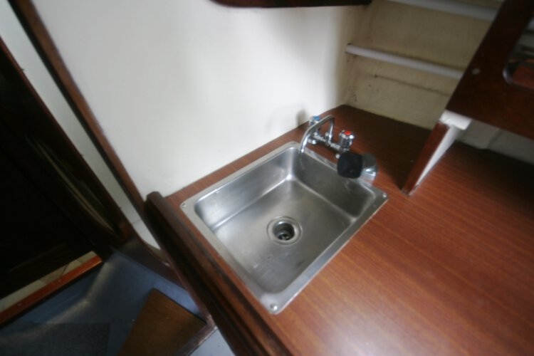 Morgan Giles for sale The galley sink - Minus the fairy liquid