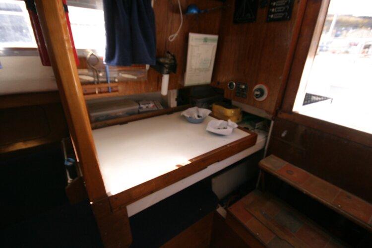 Colvic Springtide 25 Nav station on starboard side