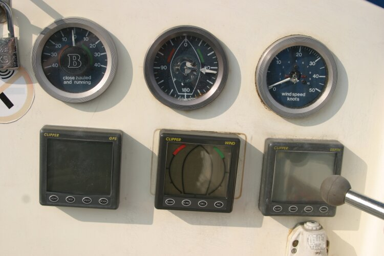 Westerly Renown Cockpit instruments