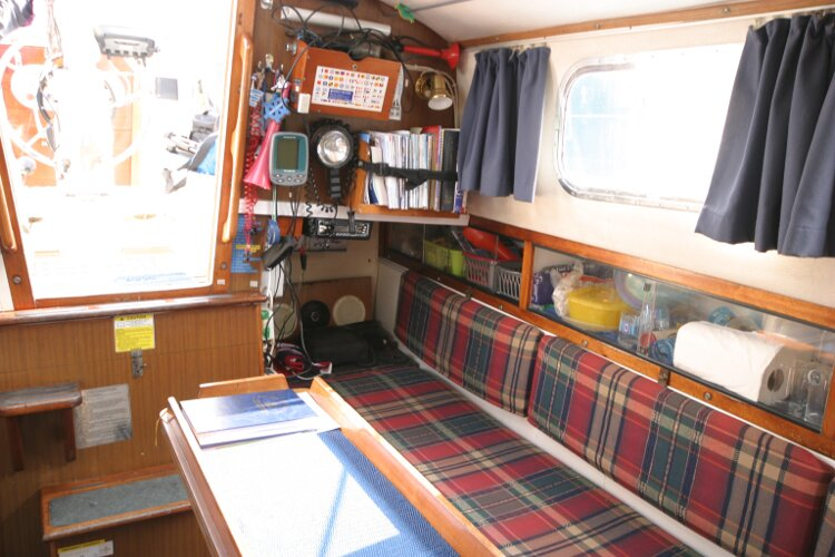 Westerly Renown Saloon looking aft