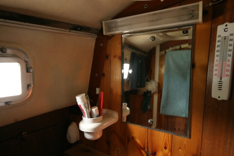 Westerly Renown Mirror in heads compartment