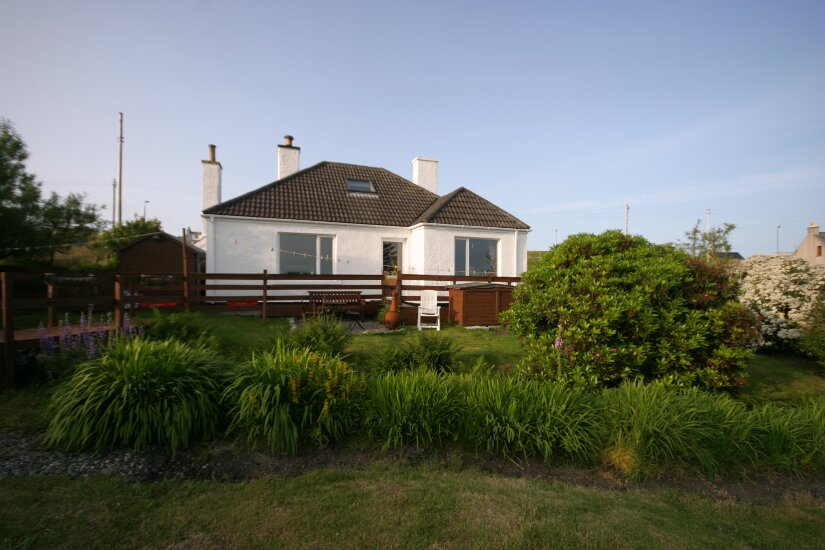 Western Isles Property -  House on the Isle of Lewisfor sale View from garden -