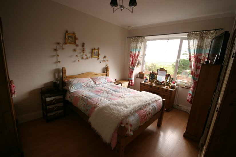 Western Isles Property -  House on the Isle of Lewisfor sale Master Bedroom - view from door