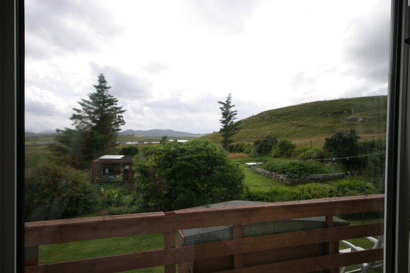 Western Isles Property -  House on the Isle of Lewisfor sale Master Bedroom - view from window