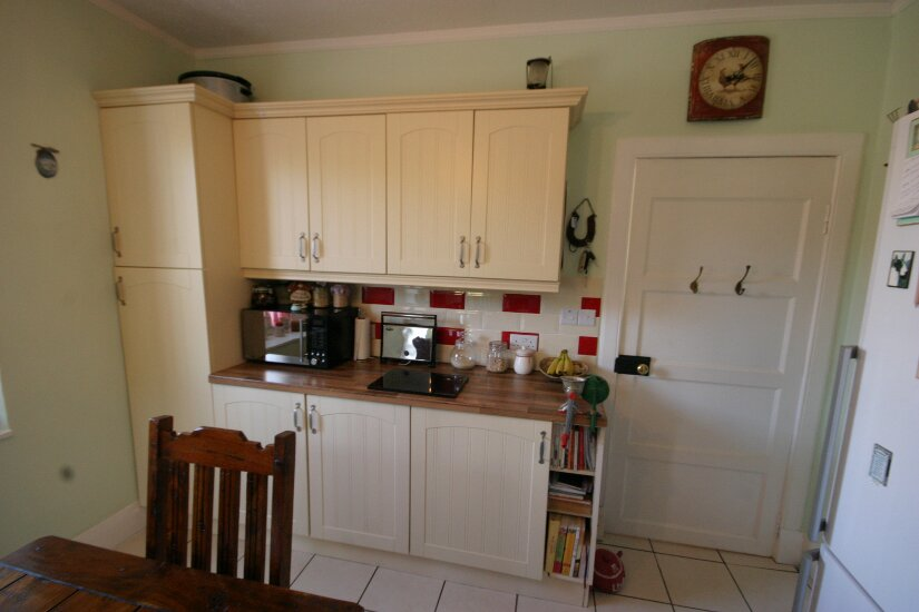 Western Isles Property -  House on the Isle of Lewisfor sale Door to rest of house - Additional fitted units and work surface.