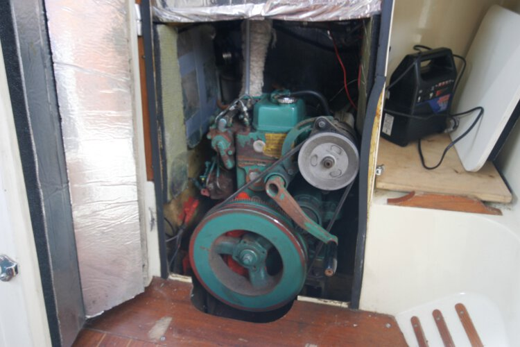Halmatic 30for sale The engine -