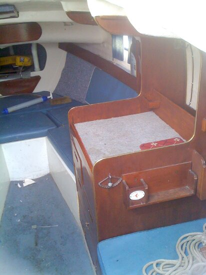 Westerly 22for sale Cabin, starboard side -