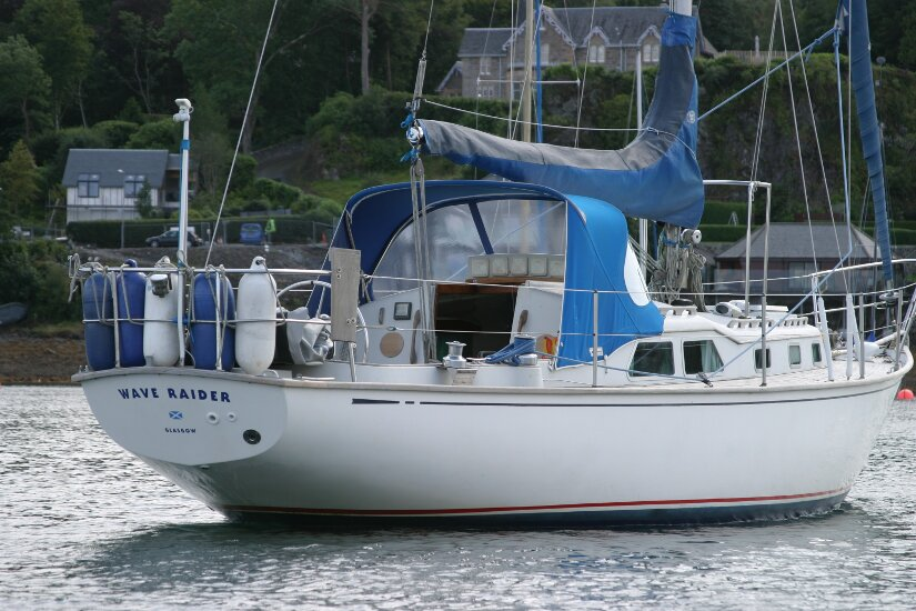 Raider 35 - NOT FOR SALE, details for information only