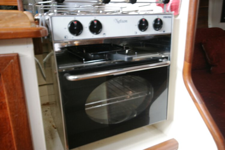 Wooden Classic Gaff cutterfor sale The cooker -