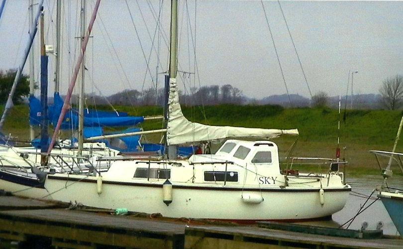 Colvic Sailor At her berth