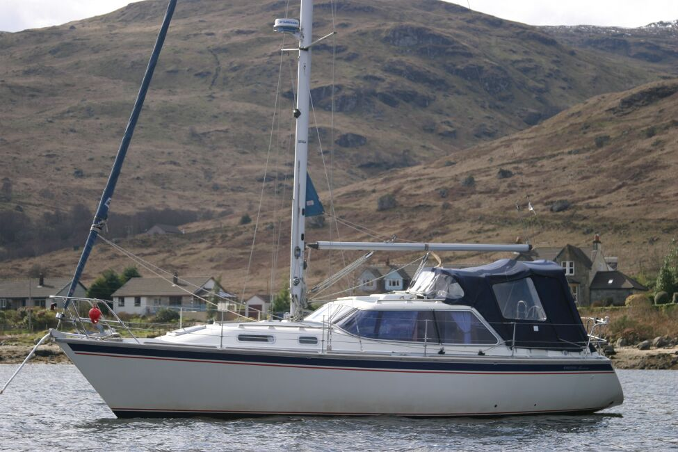 Westerly Riviera 35 MkIIfor sale On Her Mooring -