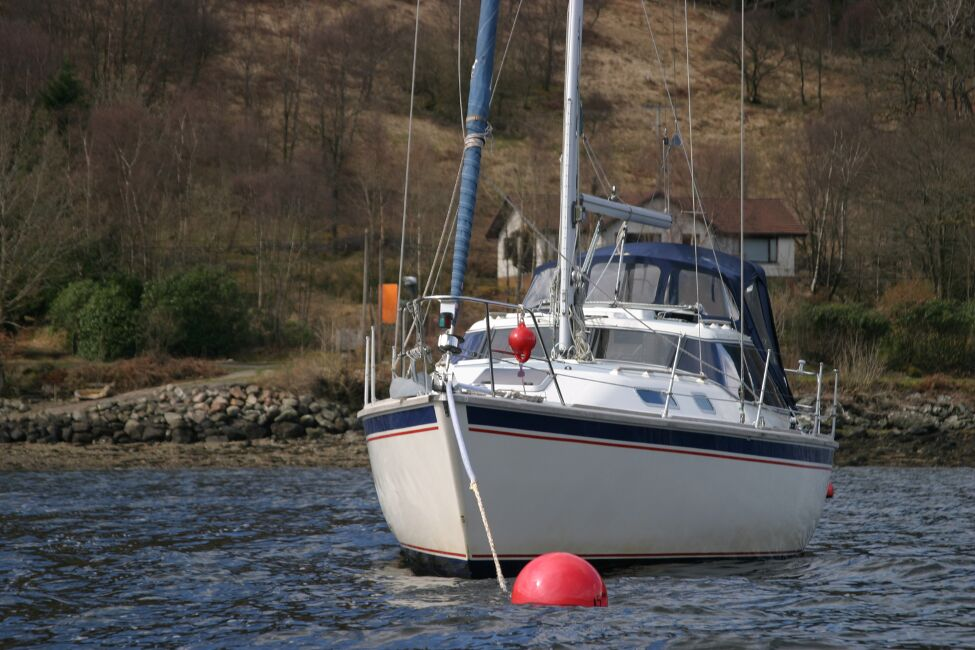 Westerly Riviera 35 MkIIfor sale On Her Mooring - Bow view