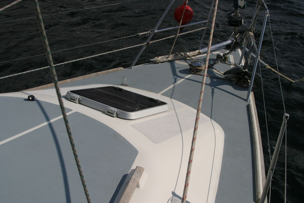 Westerly Riviera 35 MkIIfor sale View forward to foredeck -