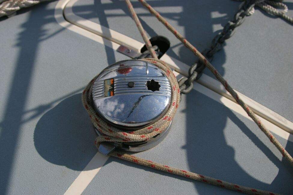 Westerly Riviera 35 MkII Windlass