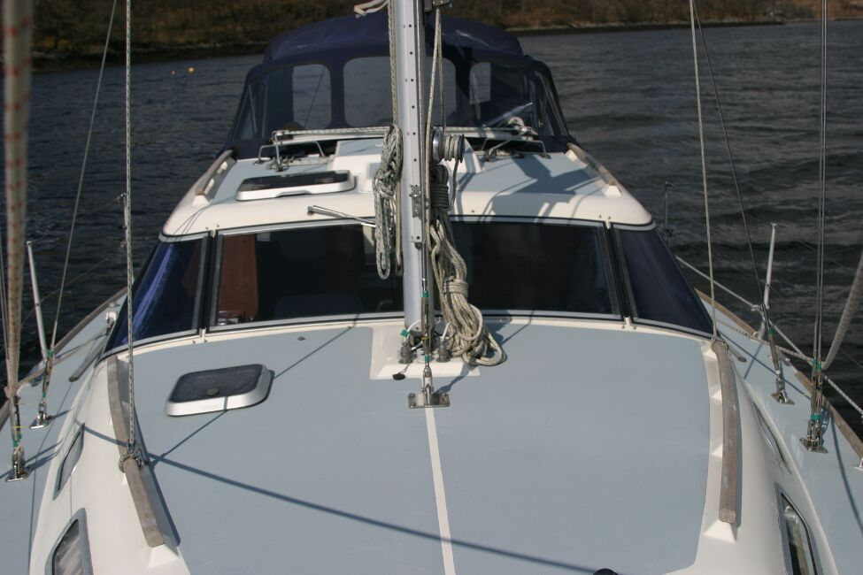 Westerly Riviera 35 MkIIfor sale View Aft  - From Pulpit