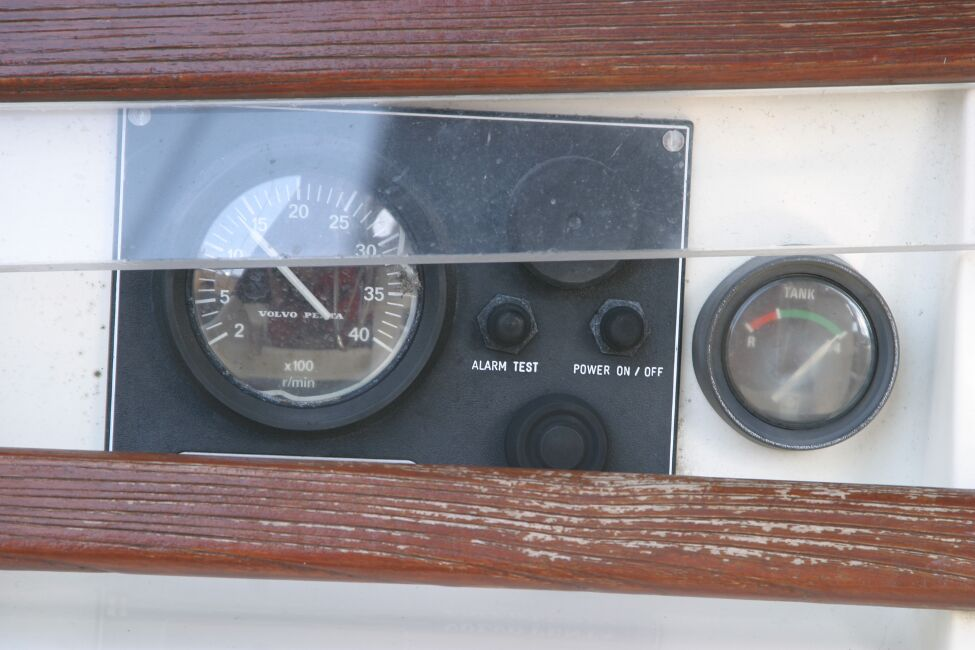 Westerly Riviera 35 MkIIfor sale Engine Controls -