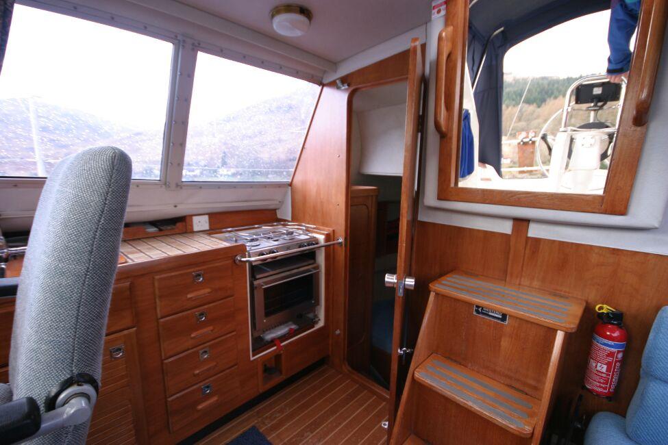 Westerly Riviera 35 MkII Bridge Deck