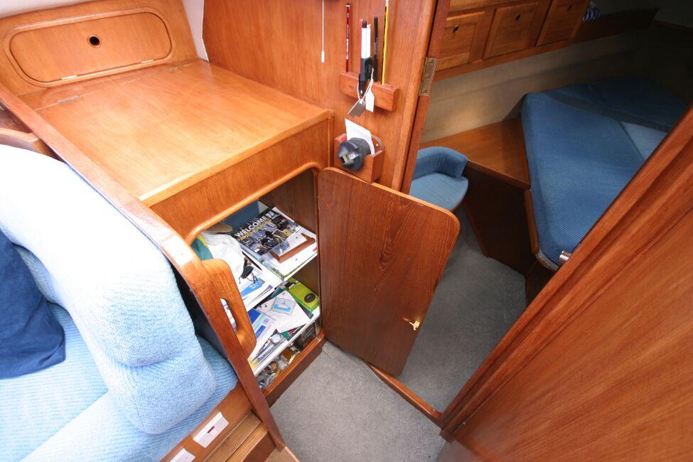 Westerly Riviera 35 MkII Storage locker