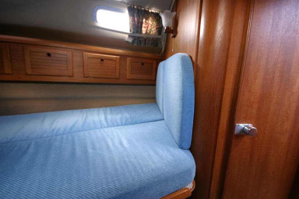 Westerly Riviera 35 MkIIfor sale Forward Cabin - Looking to starboard