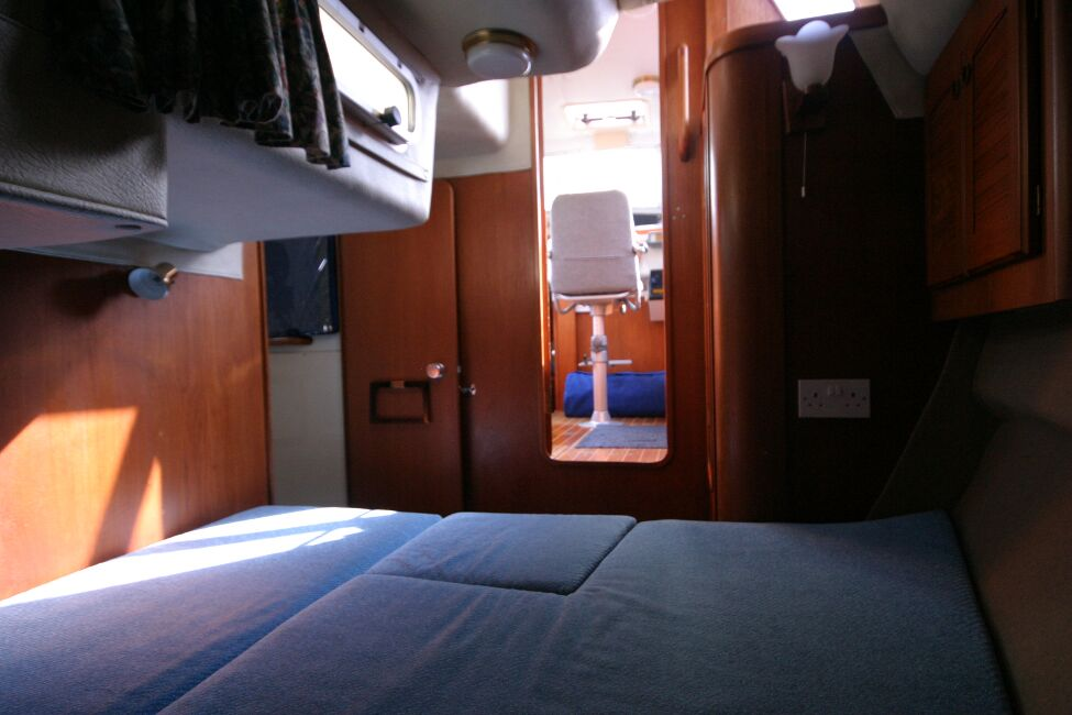 Westerly Riviera 35 MkIIfor sale Aft Cabin - Double berth, looking out