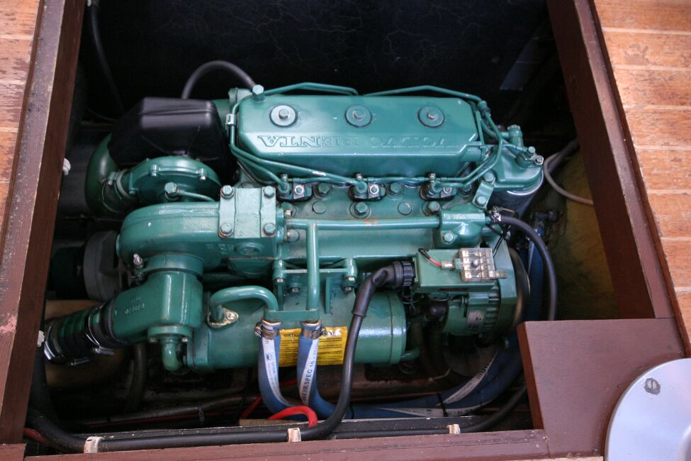 Westerly Riviera 35 MkII Engine
