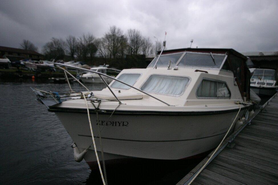 Shetland 640 Hardtop At her berth