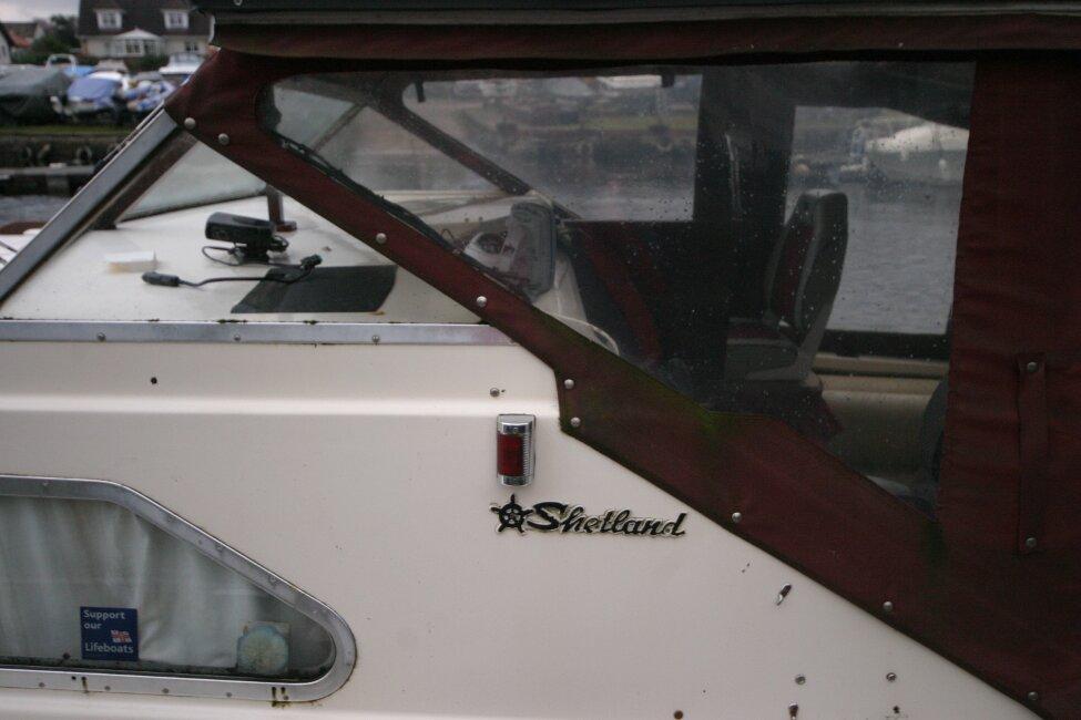 Shetland 640 Hardtop Closeup view