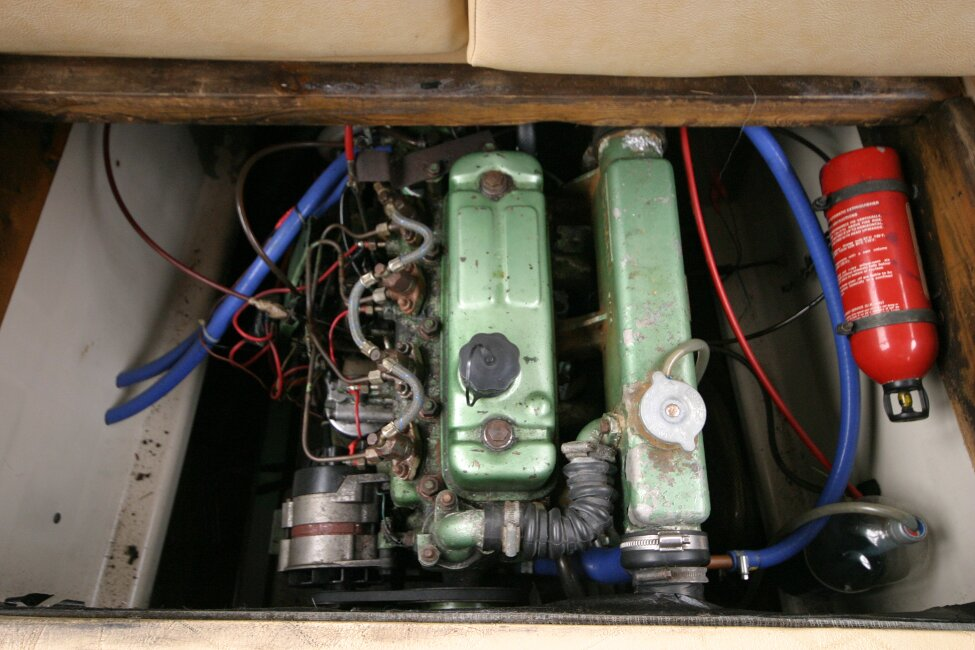 Shetland 640 Hardtop Engine