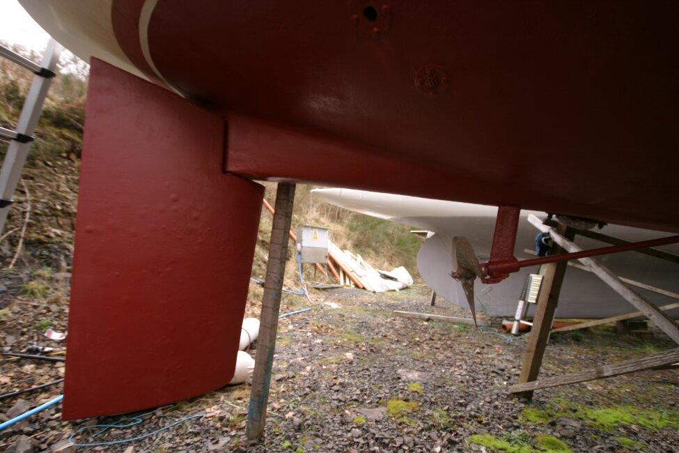 Westerly Corsair Mk 1 Stern Gear
