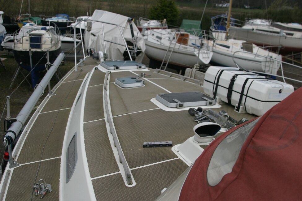 Westerly Corsair Mk 1 Coachroof and Foredeck