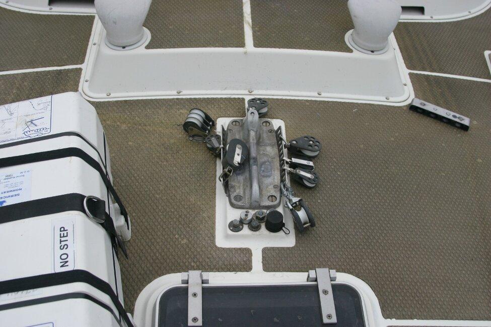 Westerly Corsair Mk 1 Mast step