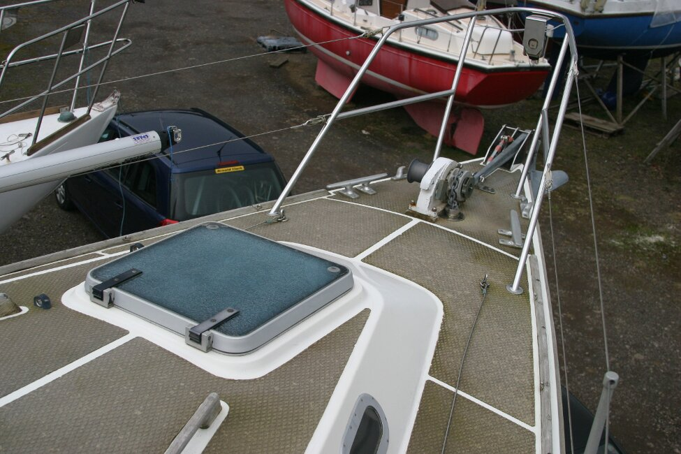 Westerly Corsair Mk 1 Foredeck and Forehatch