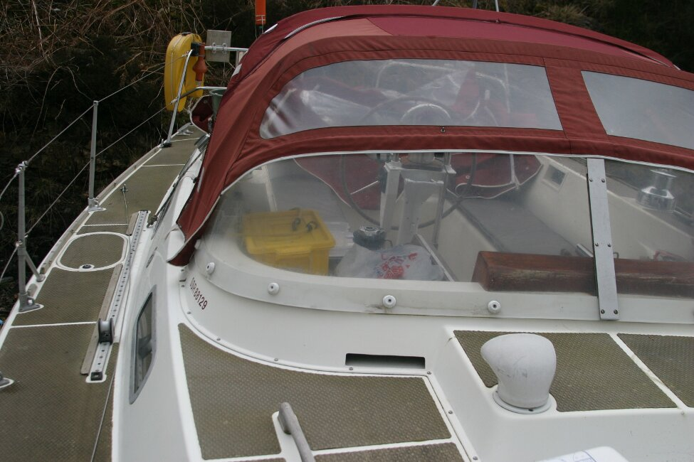 Westerly Corsair Mk 1 View aft