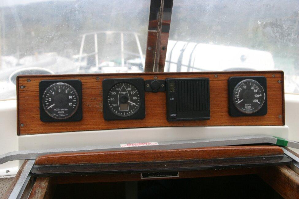 Westerly Corsair Mk 1 Instrument Panel