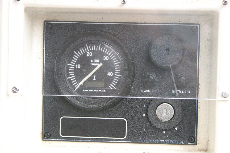 Westerly Corsair Mk 1 Engine control panel