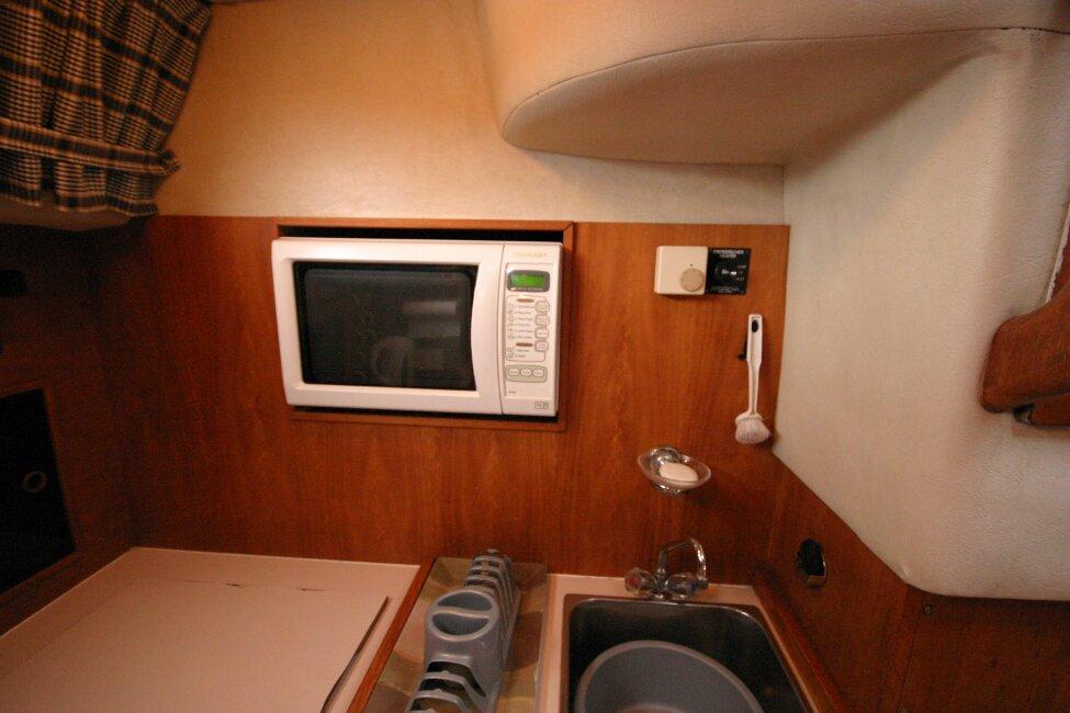 Westerly Corsair Mk 1 Microwave