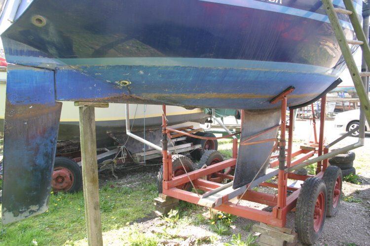 Master Marine Eygthenefor sale Starboard side - Keel and rudder