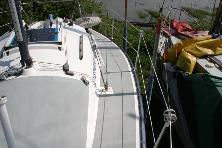 Master Marine Eygthenefor sale Port side deck - Looking aft