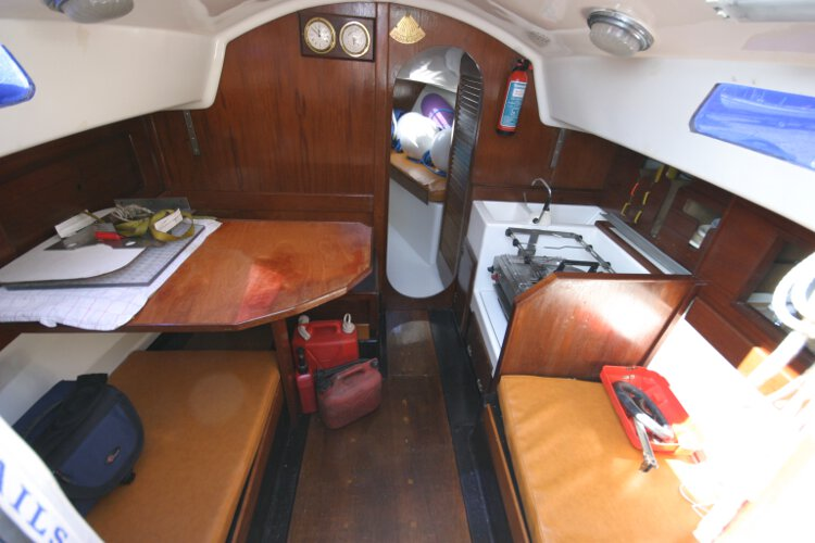 Master Marine Eygthenefor sale The saloon - Seen from the main companionway