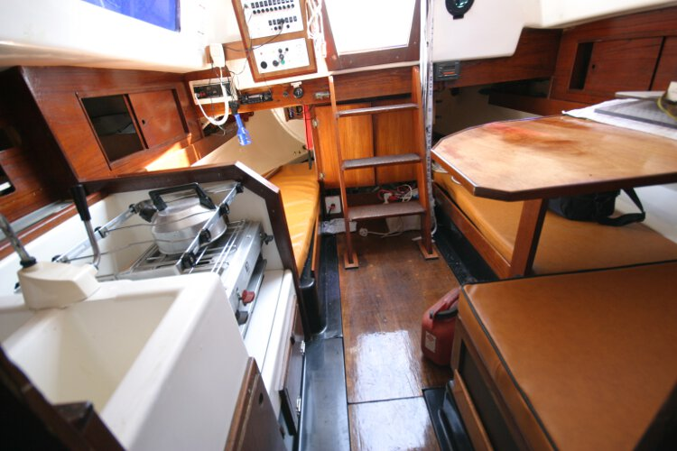 Master Marine Eygthenefor sale The saloon - Looking aft