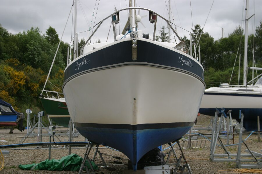 Finnsailer 35ft Motor Sailer Bows