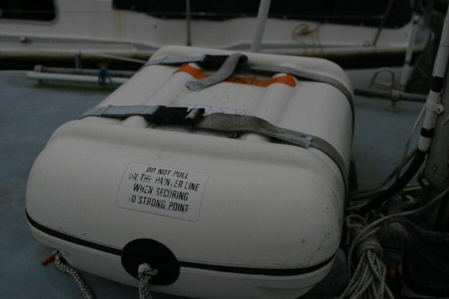 Finnsailer 35ft Motor Sailer Life Raft